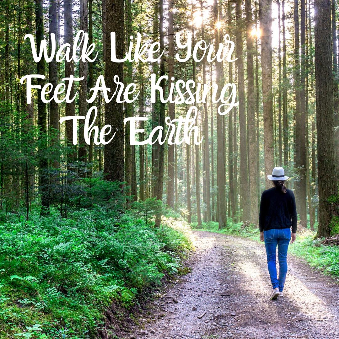Walk For A High Vibration